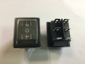 Waterproof Dpdt Double Pole Double Throw 6 pin on on 20amp Rocker Switch