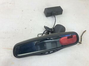 Lincoln Ls Oem Rear View Mirror Auto Dim Compass Temp With Pigtail