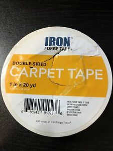 Double Sided Carpet Tape 1 In X 20 Yards