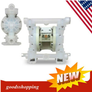 Double Diaphragm Air Pump Industrial Chemical Polypropylene 0 59 Inlet outlet