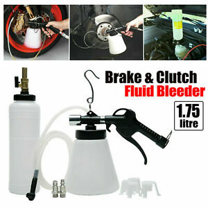 1 75l Pneumatic Brake Fluid Bleeder Pump Kit Tool Car Air Extractor Oil Bleeding