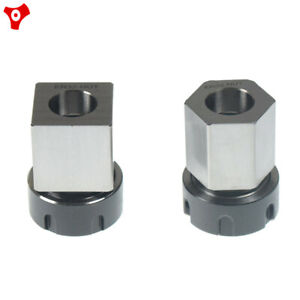 Er 32 Square Hex Collet Block Chuck Holder For Cnc Lathe Engraving Machine