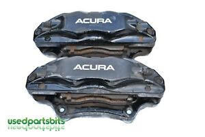 2007 2008 Acura Tl Type S Left Right Front Brembo Brake Caliper Set Oem