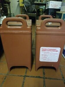 1 one Cambro 350lcd Insulated Food soup Carrier Hot cold Keeps Temp For Hrs