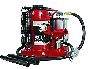 Aff American Forge 5630sd 30 Ton Sd Air Hydraulic Bottle Jack