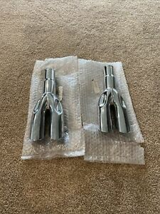 New 1969 Ford Mustang Gt Mach 1 Chrome Tips C9zz 5255 C Pair