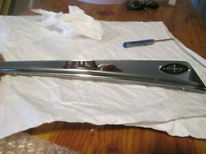 1963 Ford Galaxie Front Fender Top Moulding Trim Spear Ornament New Repo