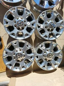 2019 2021 Dodge Ram 2500 3500 18 Factory Oem Wheels Rims Set Of 4 Free Shippin