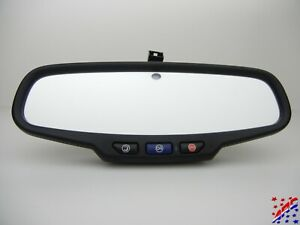 Factory Gm Auto Dimming Rearview Rear View Mirror With Onstar 13584891