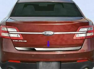 For 2010 2019 Ford Taurus Rear Lower Trunk Trim Stainless Steel