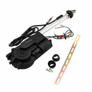 Universal 12v Electric Power Antenna Replacement Kit Car Am Fm Radio Mast Aerial