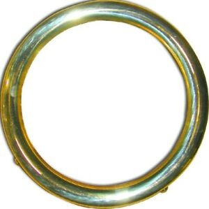 Model T Headlight Rim Brass 1915 27 All
