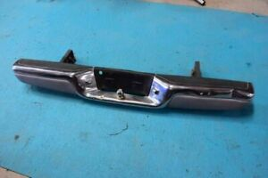 97 04 Dodge Dakota Used Rear Chrome Bumper Assembly Dented Chrome