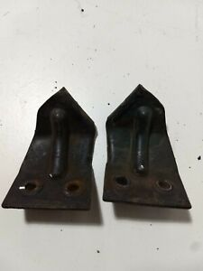 1941 1942 1946 Chevy Gmc Pickup Truck Hood Latch Catch Pair Front Grill 2 Ton