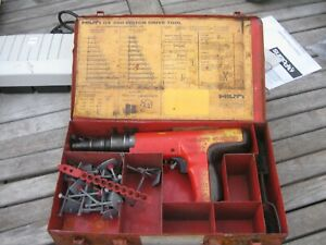 Hilti Dx350 Powder actuated 0 27 Caliber Fastening Tool Extras