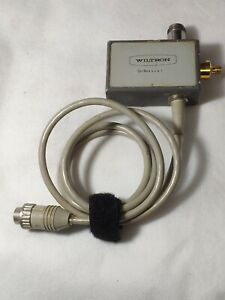 Wiltron Swr Autotester 560 97sf50 1 38db Directivity 10mhz To 18ghz