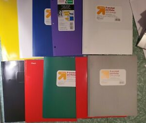 75 Plus 2 Pocket Folders With Prongs Variety Of Colors