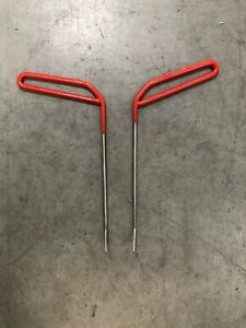 Pdr Tools Set 2pc Ding King Paintless Dent Repair Made In Usa
