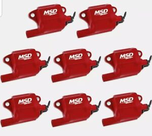 Msd Pro Power Coils 05 13 Gm L series Ls2 ls7 Engines 8 pack Smooth Idle