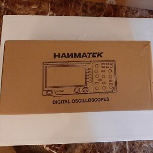 Hanmatek 110mhz Bandwidth Dos1102 Digital Oscilloscope 2 Channel Tft Lcd Display