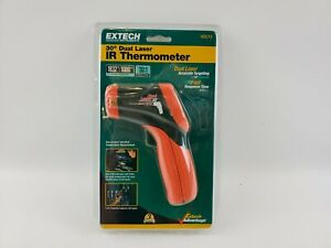 Extech 42512 Dual Laser Infrared Thermometer New