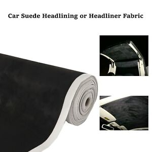 Car Headliner Fabric Replacement Upholstery Roof Liner Sagging Gray 60 X 60
