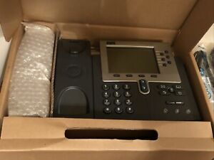 Cisco Ip Phone 7960 Series Dark Grey New Open Box