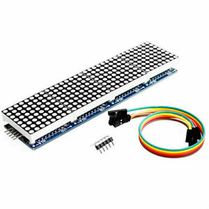 Dot Matrix Module Max7219 Microcontroller Display Accessories Whole C5a2