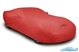 Coverking Red Triguard Tailored Car Cover For Chevy Corvette C8 Made To Order