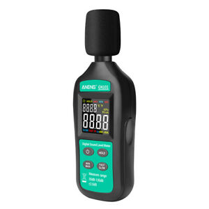 Aneng Digital Noise Meter 35db 135db Decibel Meter Lcd Display Sound Level P7h4