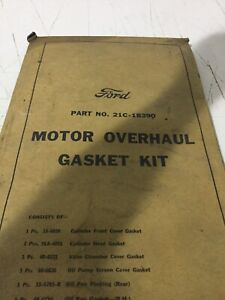 Nos Genuine Ford Flathead V8 Engine Gasket Set Never Opened