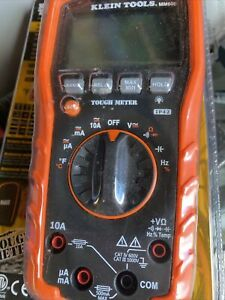 Klein Tools Mm600 Auto ranging Digital Multimeter