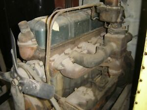 1937 1938 Chevy Original 216 Coupe Pickup Truck Engine Gasser Rat Hot Rod Scta