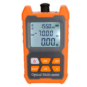 70 6 Dbm Fiber Optical Power Meter Visual Fault Locator Fiber Optic Cable O1f5