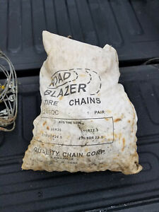 Semi Truck 4 Chains 4 Cables Never Used Light Surface Rust From Storage