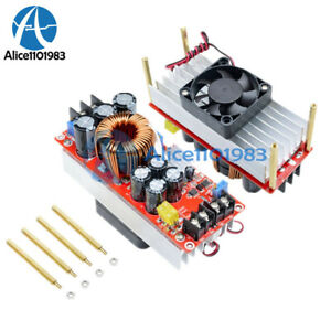 Dc dc Step Up Boost Converter Constant Current Power 400w 1500w 30a 15a Led Kit