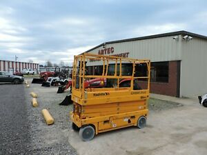 2015 Haulotte 2632e Scissor Lift Good Condition Low Hours Only 245 Hours