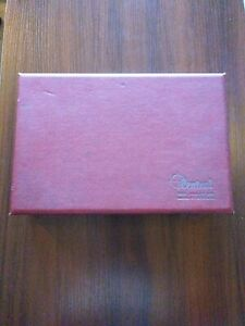 Vintage Central Tool Company No 227 Crankshaft Gage With Case And Manual