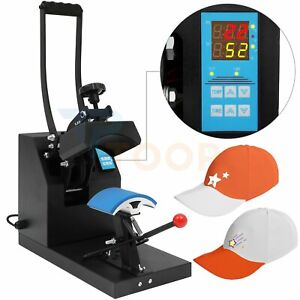 90 Rotation 5 5 X 3 5 In Hat Heat Press Machine Sublimation Clamshell Transfer