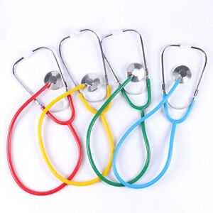 1pc Portable Stethoscope Aid Single Side Clinical Medical Emt Equipment Vet Tool