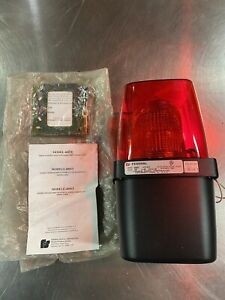 Federal Signal 400st Red Industrial Strobe Light fast Shipping New No Box