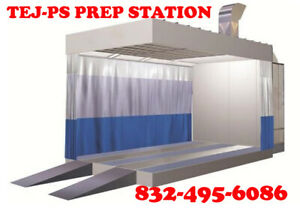 Tej ps Full Down Prep Station Paint Booth