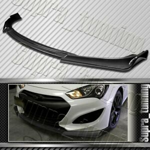Carbon Look For 2013 2016 Hyundai Genesis Coupe Ks Style Front Bumper Body Lip