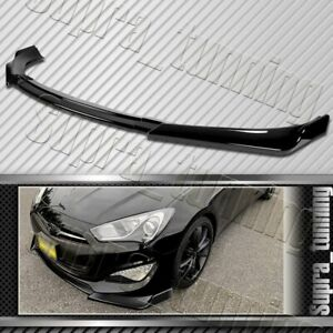 Painted Black For 2013 2016 Hyundai Genesis Coupe Ks Style Front Bumper Body Lip