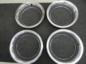 Original Corvette 15x8 Rally Wheel Trim Rings