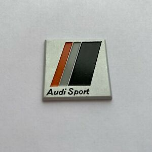 Audi Sport 80 90 S2 Rs2 Urquattro Ur quattro Steering Wheel Original Metal Logo