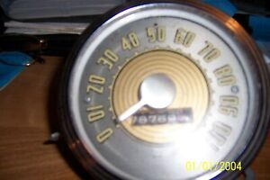 1946 Ford Speedometer Not Tested As Is