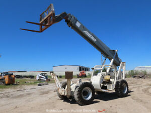 Terex Th1056c 10k 56 Telescopic Reach Forklift Telehandler Bidadoo repair