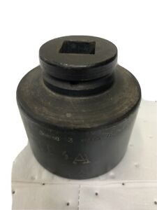 Snap On 1 Drive 6 Point Sae Flank Drive 3 Shallow Impact Socket Im963