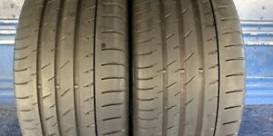 2 Continental Sport Contact 3e Ssr Rft 275 40 18 Bmw 5 25 6 32nd Tread Left 99 Y